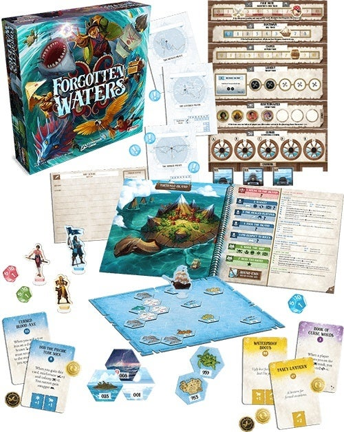Plaid Hat Games Reveals Pirate Themed Adventure Game Forgotten Waters