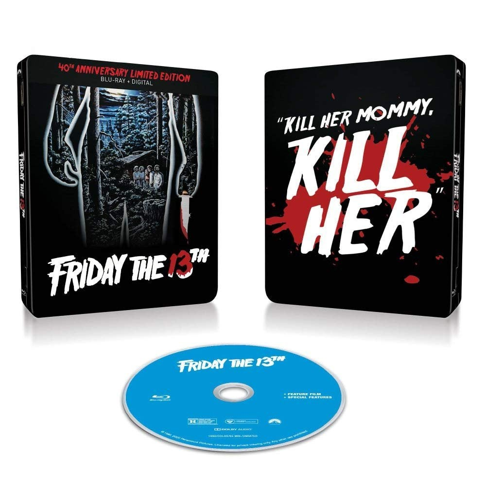 friday the 13th blu ray steelbook