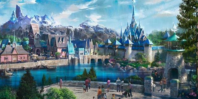 Disney Parks Reveals First Look at Frozen Themed Land