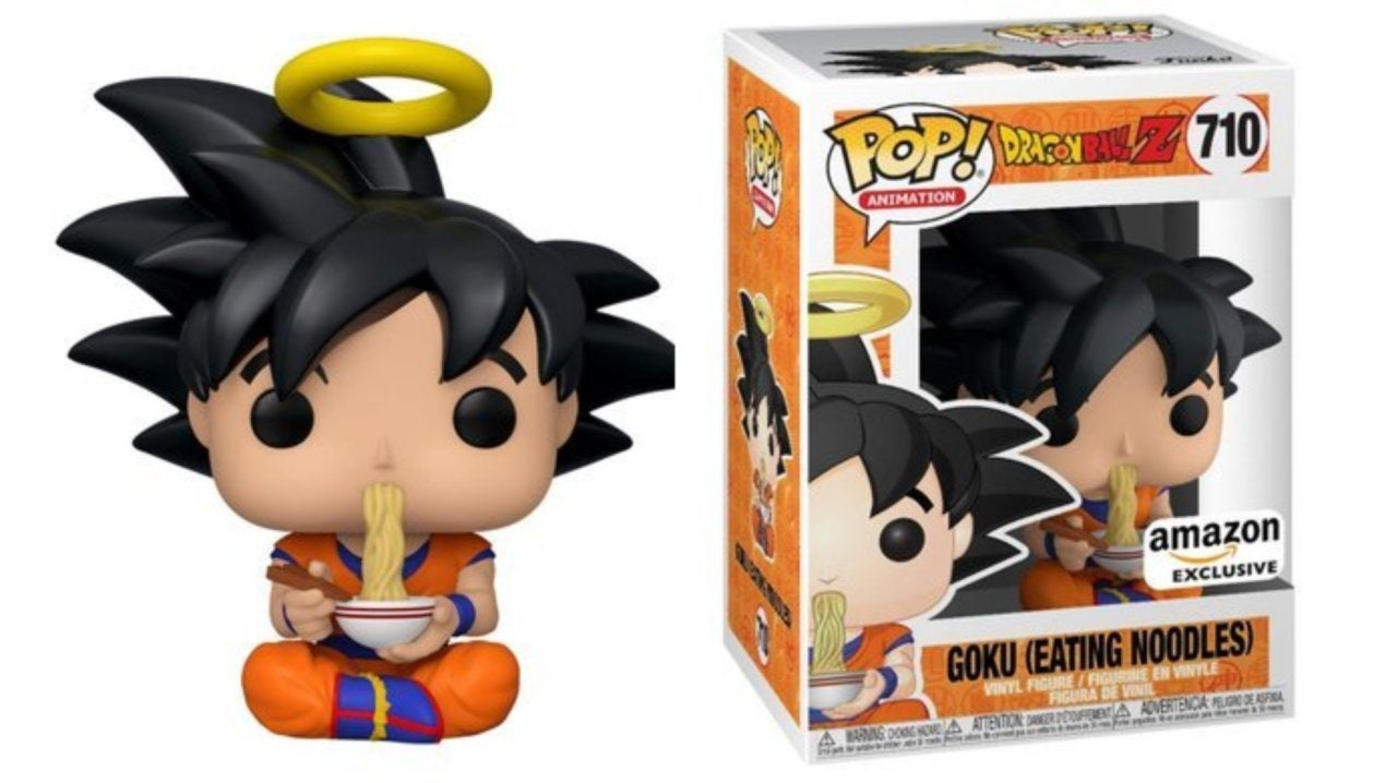 Funko S Dragon Ball Z Goku Eating Noodles Pop Figure Is Live