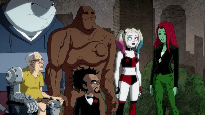 harley quinn death poison ivy doctor psycho clayface dc universe