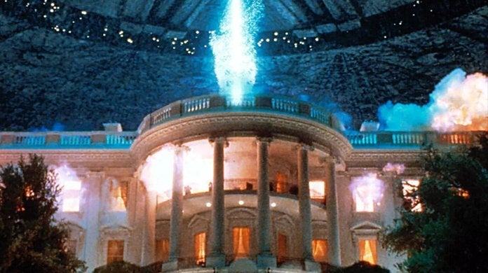 independence day movie 1996 white house