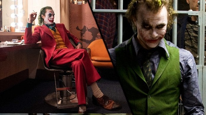Joker Joaquin Phoenix The Dark Knight Heath Ledger