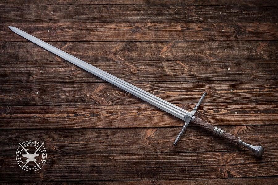 kaer morhen geralt sword witcher