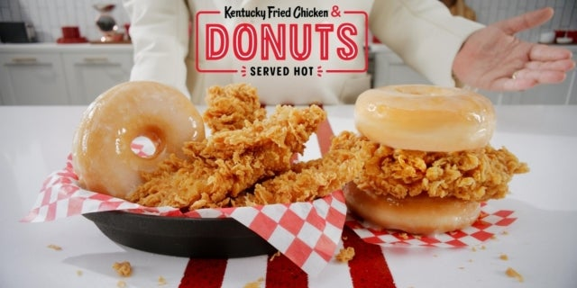 KFC to Roll Out Chicken and Doughnut Sandwich Nationwide