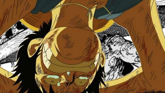 Luffy Sad