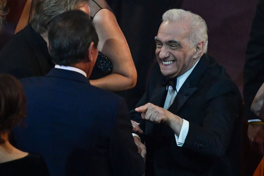 martin scorsese awards show