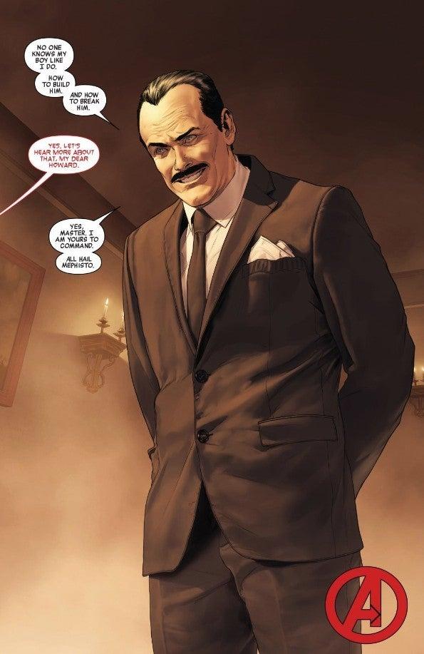 Marvel Avengers 31 Howard Stark Returns Alive Mephisto Teamup