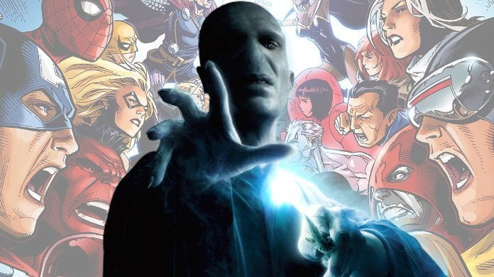 Marvel Avengers X-Men Voldemort