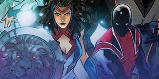 The Union: Marvel Announces New British Super Team