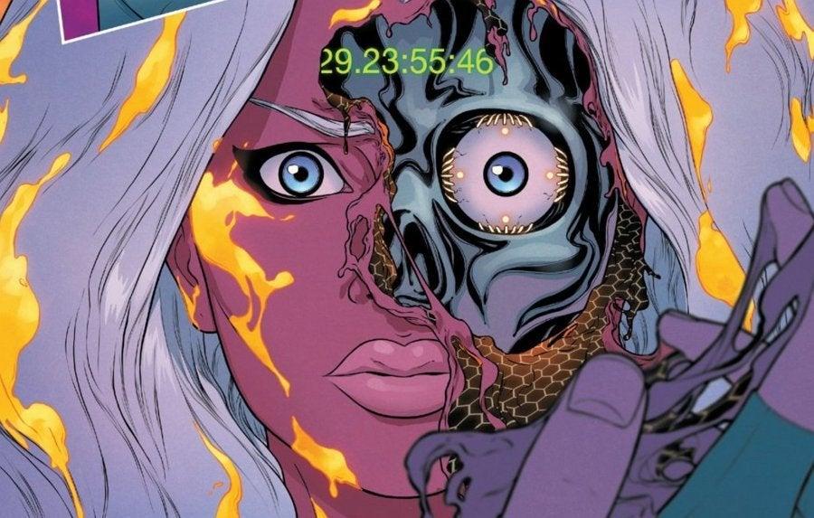 Marvel Giant-Size X-Men Jean Grey Emma Frost Storm