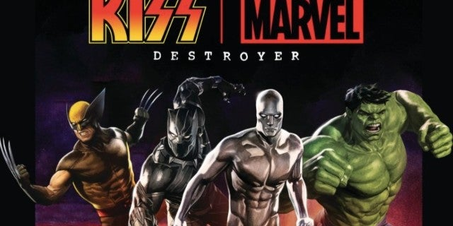 Kiss and Marvel Collaboration Announced by Gene Simmons