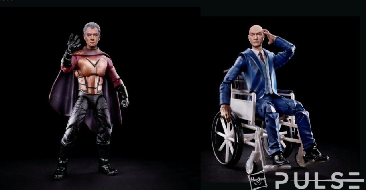 Marvel Legends X-Men Movies Magneto Professor X Old