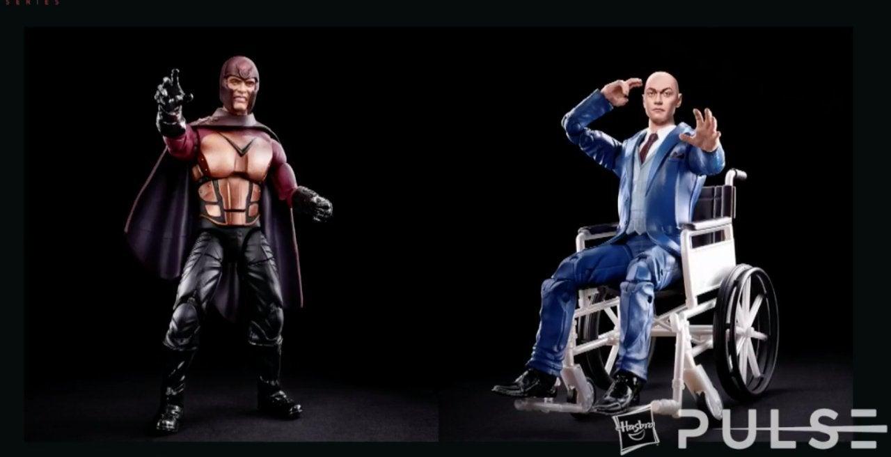 Marvel Legends X-Men Movies Magneto Professor X Young