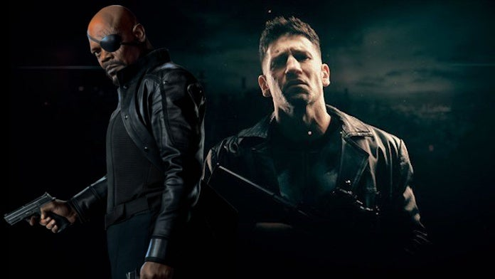 Marvel Punisher MCU Movie Nick Fury Story Adam Simon