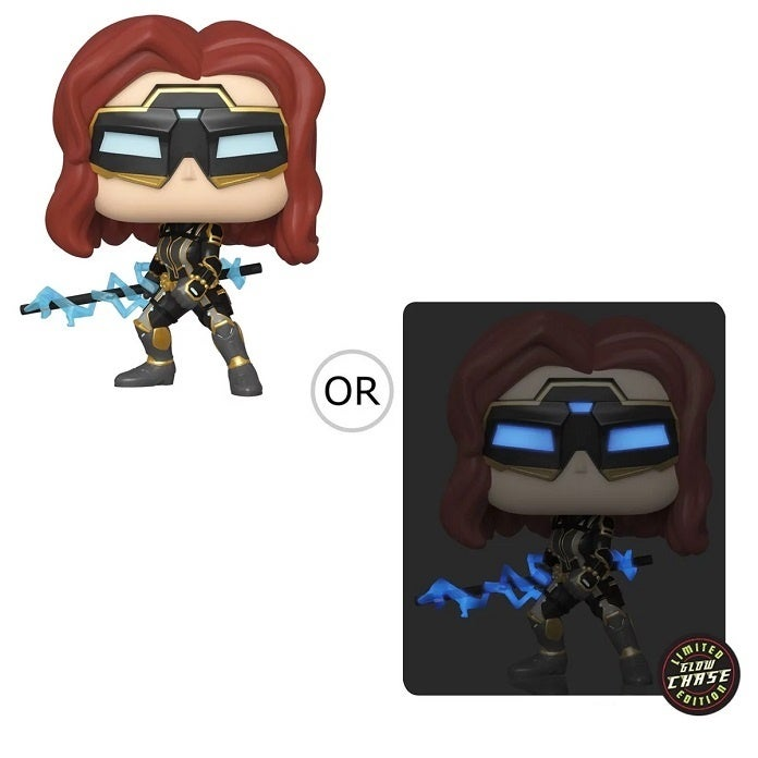 Marvel's Avengers Black Widow Stark Suit Pop2
