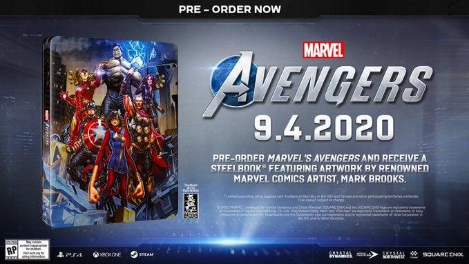Marvel's Avengers SteelBook