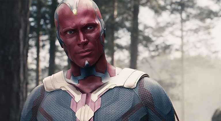 marvel vision paul bettany makeup terrifying