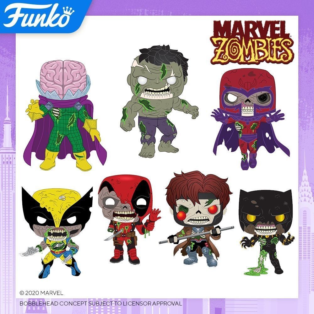 Marvel Zombies Funko Pop Vinyl Figurines