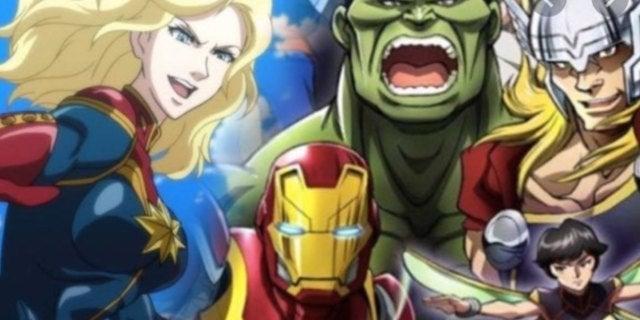 Marvel's Future Avengers Anime Shares Disney+ Release Date