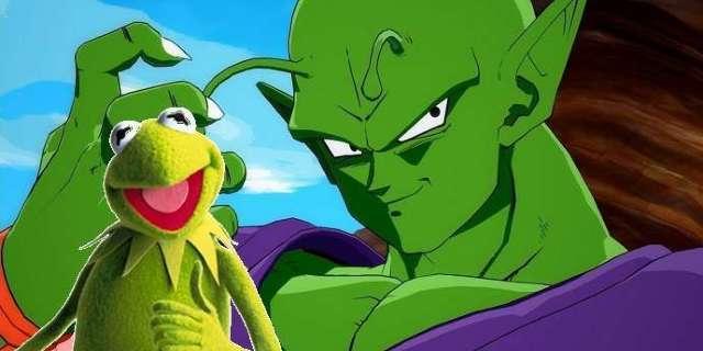 Dragon Ball Crossover Allows Piccolo to Meet Kermit the Namekian