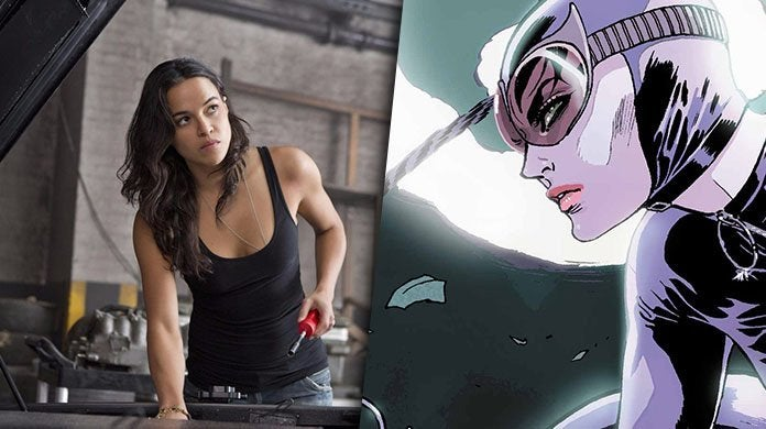 michelle rodriguez fast furious catwoman