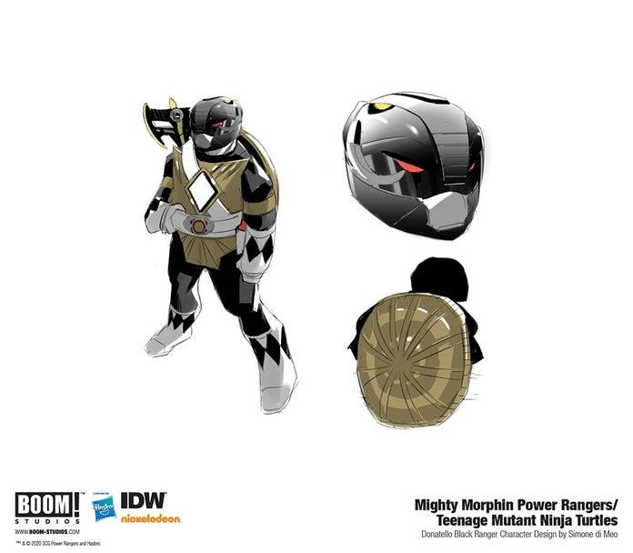 Mighty-Morphin-Power-Rangers-Teenage-Mutant-Ninja-Turtles-4-Black-Ranger-Donatello