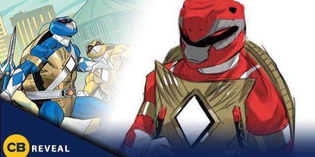 Toy Fair: Power Rangers/Teenage Mutant Ninja Turtles Debuts Turtle Rangers Designs (Exclusive)