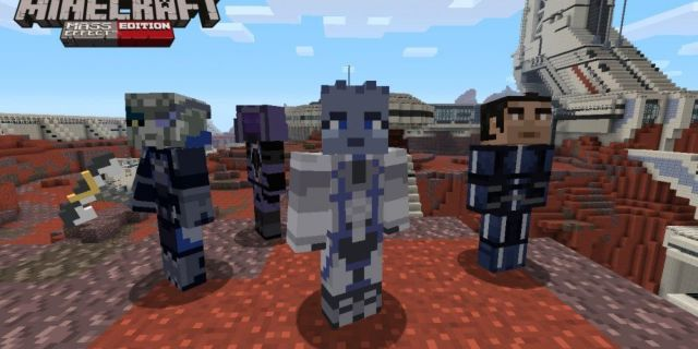 Minecraft Adds New Mass Effect Content