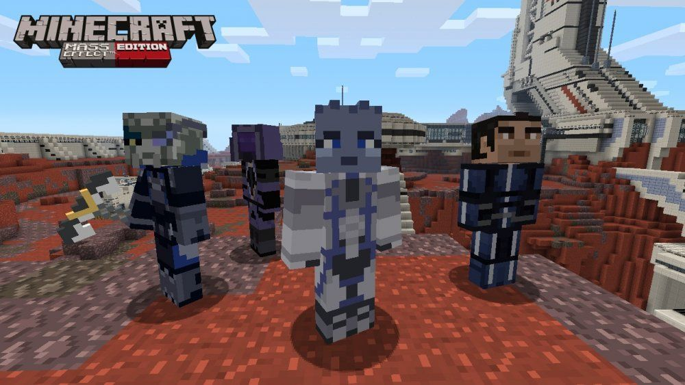 Minecraft Mass Effect Ed