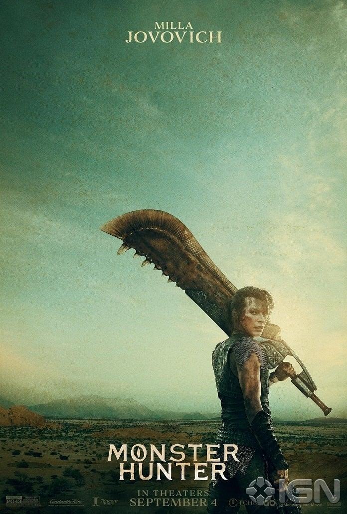 Monster Hunter Movie Poster2