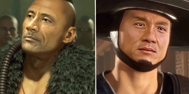 Mortal Kombat 11 Video Adds Keanu Reeves, The Rock, and More to the Game