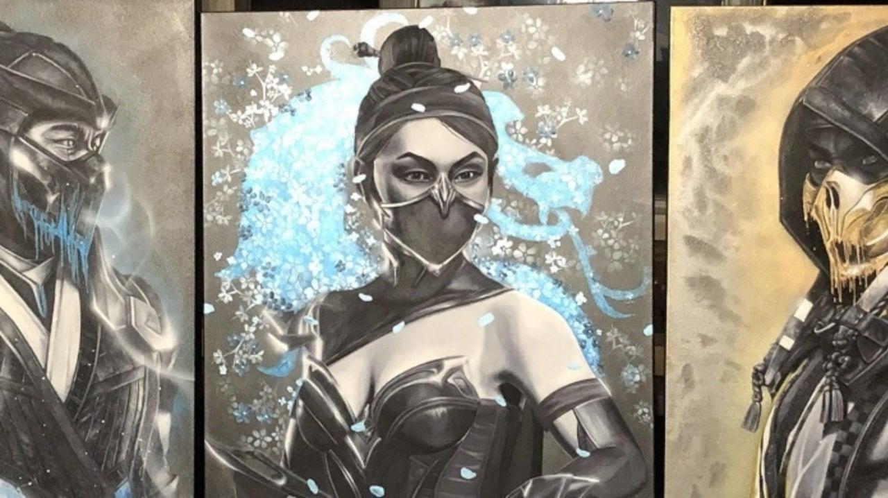 Mortal Kombat Fan Creates Incredible Artwork Of Iconic Fighters