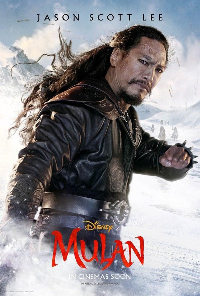 mulan character poster 4