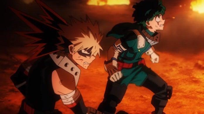 My Hero Academia Heroes Rising Deku Bakugo