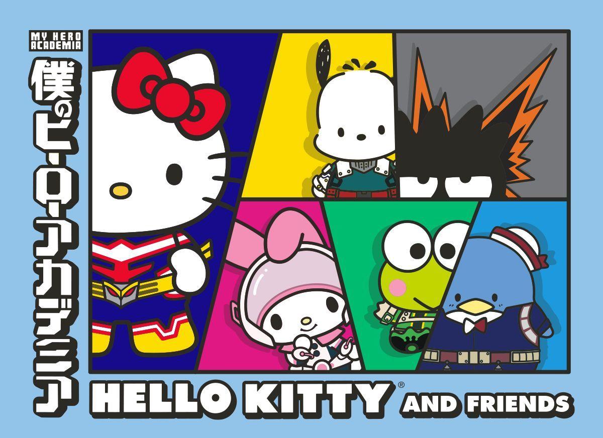 My Hero Academia x Hello Kitty and Friends Visual