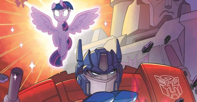 my little pony transformers crossover idw entertainment