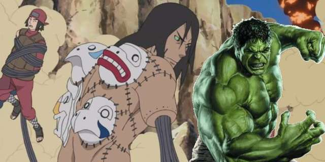 Naruto Avengers