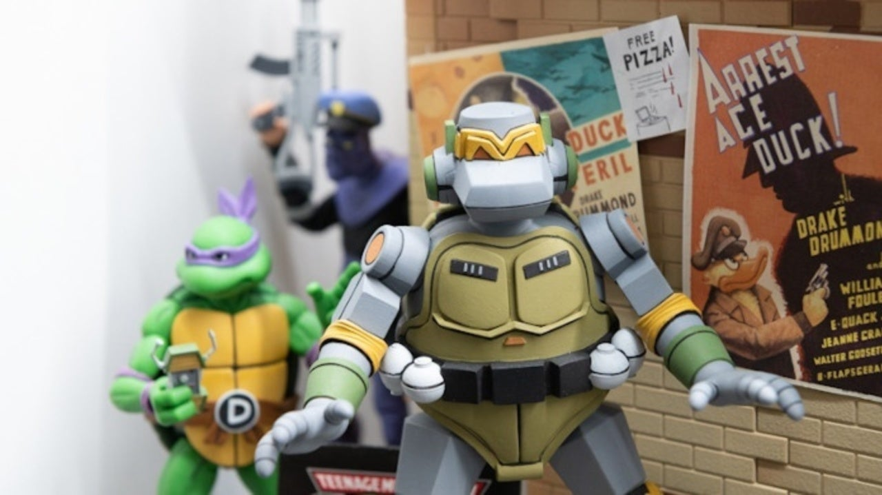 Toy Fair Neca Reveals Classic Teenage Mutant Ninja Turtles Figures