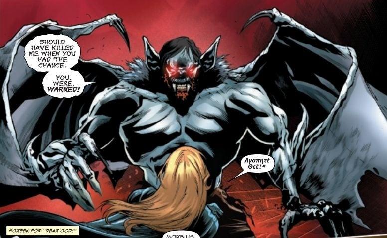 new morbius look