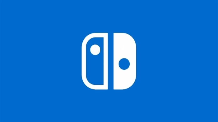 nintendo switch blue logo
