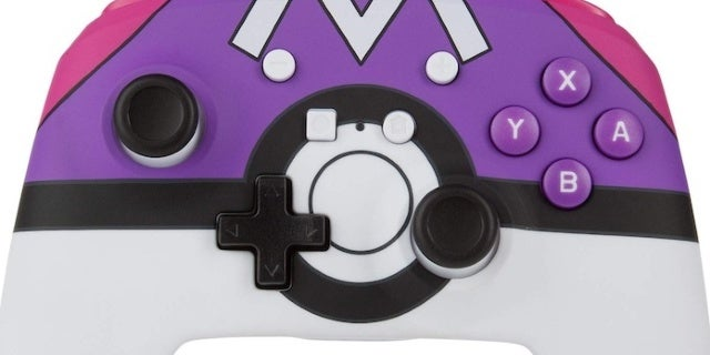 New Nintendo Switch Master Ball Controller Announced for Pokemon Day
