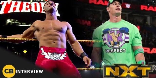 NXT's Austin Theory Wants a Match Against John Cena