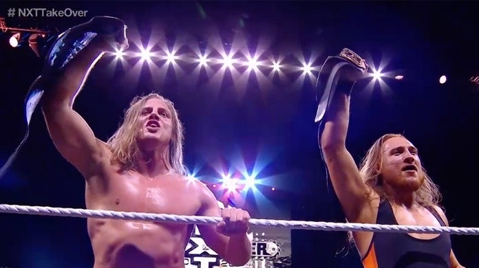 NXT-TakeOver-Broserweights-Matt-Riddle-Pete-Dunne-Tag-Team-Champions
