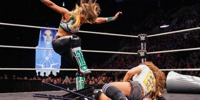 NXT Announces Tegan Nox vs Dakota Kai Steel Cage Match