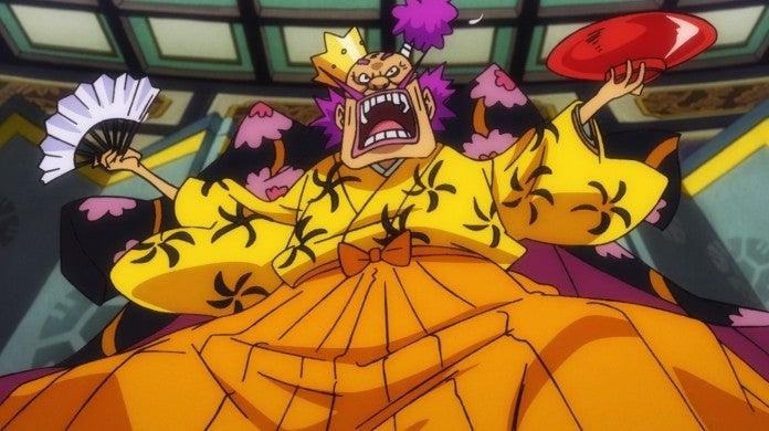One Piece Kurozumi Orochi Anime