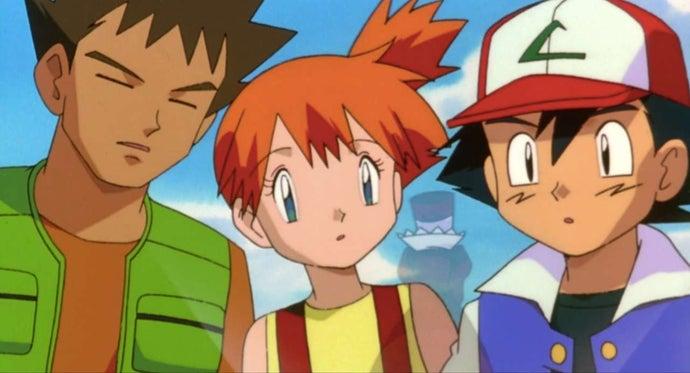 Ash, Misty e Brock (1998)