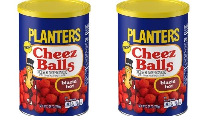 planters cheez balls blazin hot