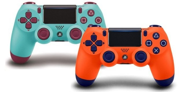 Goku Orange and Berry Blue PlayStation 4 DualShock Controllers Are Back and On Sale