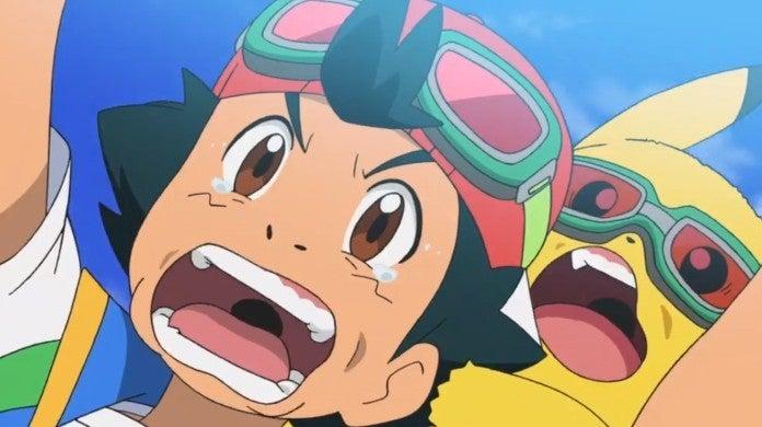 Pokemon Ash Pikachu Anime
